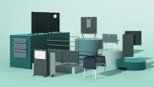 Kinnarps lanserar VIBE- den kompletta skärmserien