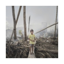 Plan Sverige i Almedalen: Haiyan 365 dagar –   en fotografisk resa om barn i katastrofer.