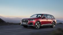 Audi Q7 med omfattende opdatering