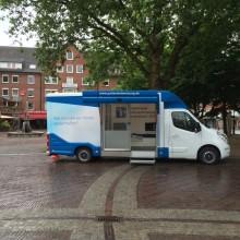 Beratungsmobil der Unabhängigen Patientenberatung kommt am 23. September nach Emden.