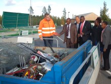 Vakin och Kajiado i Kenya samarbetar för hållbar vatten- och avfallshantering