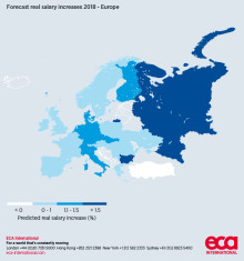 UK employees to receive among the lowest salary increases in Europe next year