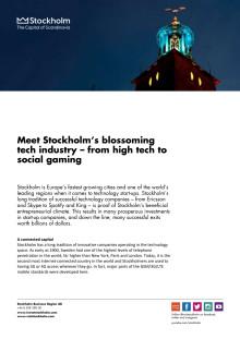 The tech scene in Stockholm 2014