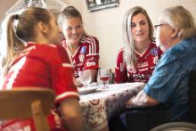 Lagkamrat i Piteå uppmärksammas på idrottsseminarie