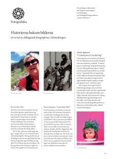 Historierna bakom bilderna - Ett urval pressbilder
