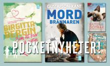 Färska pocketböcker från Bokfabriken!