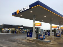 Idag invigs Statoils nya fullservicestation i Sundsvall