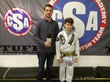Top junior BJJ yellow belt on BBC Radio Kent
