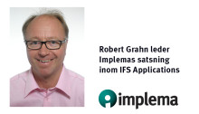 Robert Grahn leder Implemas satsning inom IFS Applications