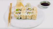 Recept: Sushiskola - Uramaki