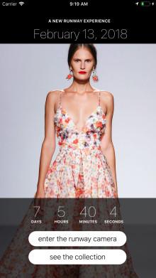 Var med på New York Fashion Week med Badgley Mischkas nya app