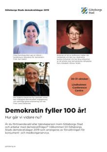 Program Demokratidagarna 2019