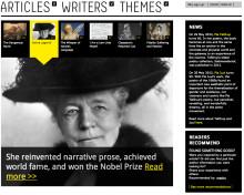 Nordisk webbportal kan få danskt designpris