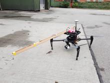 VIDEO: Sådan skal droner detektere partikelforurening i luften