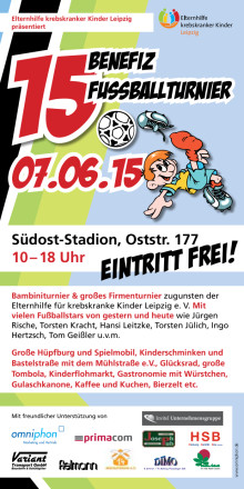 Benefiz-Fussball-Turnier der Elternhilfe Leipzig