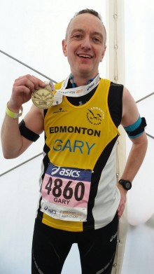 #TeamSCT - Meet Gary, one of our London Marathon runners!