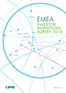 CBRE Investor Intentions Survey 2018
