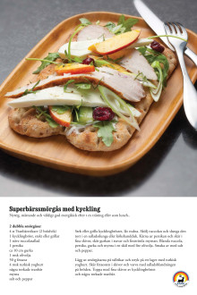 Recept: Superbärssmörgås med kyckling