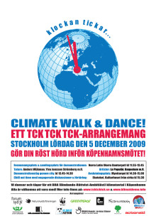 Climate Walk & Dance 5 december 2009