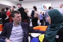Stor internationell uppslutning på konferens om integrationsarbete