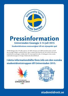 Mediaguide Sommaruniversiad 2015 - studentidrottens motsvarighet till ett olympiskt spel