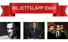 Biljettsläpp idag för tre nya konserter på Kulturkvarteret