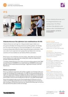 Tandberg Case Study - IFS