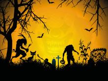 Høstfest og halloweengys i Rædselsskoven