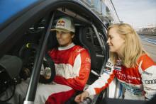 Skidåkaren Jon Olsson kör finalen i Audi Sport TT Cup till helgen