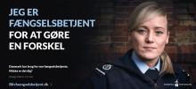 Ny kampagne skal få flere til at blive fængselsbetjent