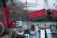 Blåste Leca 8 etasjer til værs