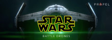 These are the drones you are looking for  -  RLVNT presenterar laserstridande Star Wars-drönare.