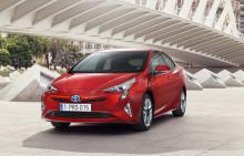 Sverigepremiär för nya Prius