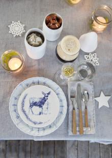 Tips til vakker borddekking med ny juleplatte