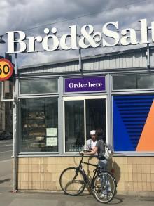 Cykelfrukost på Skeppsbron