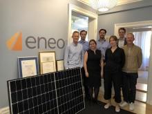 Axel Johnson går in som ägare i solcellsbolaget Eneo – vill skapa europeisk marknadsledare inom solenergiförsörjning för stora företag och organisationer
