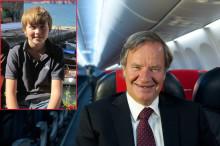 Over 1200 konkurrerte om å fly med Norwegian-sjef Bjørn Kjos