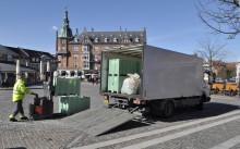 Dansk Retursystem sender biogasbil på gaden i København