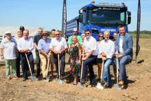 Spatenstich für neue Werkstatt Scania Mannheim/Plankstadt