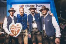 EHC Red Bull München ist Hacker-Pschorr Wiesnchampion 2018