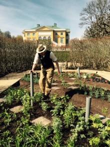 Nu börjar konstnärerna kreera Land Art och Showgardens på Gunnebo slott – följ byggandet på plats