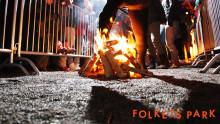 Eldfesten firas i Folkets Park