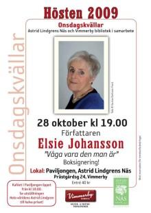 Onsdagskväll med Elsie Johansson