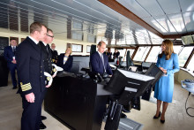 Integrated technology for research vessels in the spotlight as RRS Sir David Attenborough officially named
