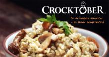 Hjälp oss skapa höstens bästa recepthäfte under Crocktober