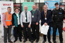 Passenger security roadshow calls at Milton Keynes