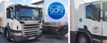 Arla inviger 17 etanollastbilar och ny tankstation på Kallhäll mejeri