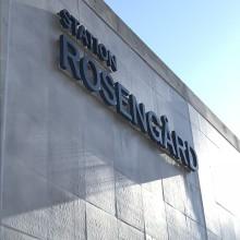 Invigning av station Rosengård 8 december 2018