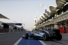 Sista försäsongstesten för F1-teamen i Bahrain
