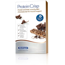 Healthspan's New Protein Crisp Bar can help to maintain muscle-mass as we age.